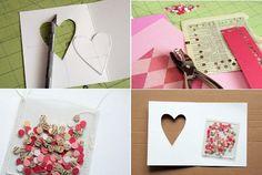 Cartões artesanais de dia dos namorados como fazer, dicas 1