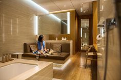 Inside Cathay Pacific's First Class Lounge | Hong Kong Insider Diary via Gary Pepper