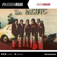 #BuenDiaRojo! #BuenSabado! 😈 Commisso, Balbuena, Ruiz Moreno y López en la puerta del Pacific Hotel en Tokio, 1975