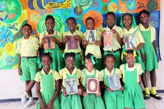 I am very excited to begin a partnership with the Fontamara School in Port au Prince, Haiti and the Power of Education Foundation that supports the social, academic, nutritional and medical needs of 189 students from Kindergarten to sixth grade.