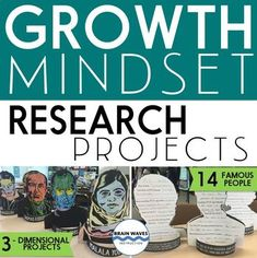During this project, students will first learn about growth mindset by reading an informational article about Carol Dweck's work. Then, they'll select a famous person in history with a growth mindset. They'll choose from 14 famous leaders and pioneers in their