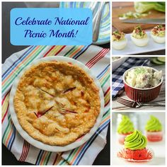 Celebrate National Picnic Month with these delicious recipes featured on The Chef Next Door.