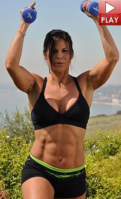 Target your triceps with these great GymRa workout videos. Weights, muscle, strength training, cardio workouts, circuit training, core based video workouts.Best of all it's free to try.