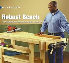 woodworker's workbench   workbench plans