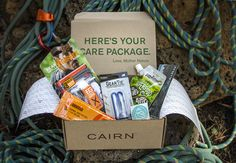 Cairn is your monthly box of outdoor discovery. Every month you'll receive a box of products that cater to an outdoor lifestyle.