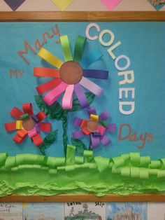 Spring - Dr. SEUSS - My Many Colored Days