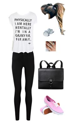 """""""Untitled #5600"""" by northamster ❤ liked on Polyvore featuring Halftone Bodyworks, Vans, Oasis, Forever 21 and Monki"""