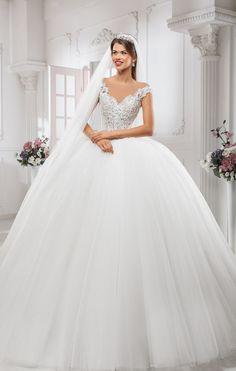 Magical Lavish Wedding Dresses Collection That Will Impress Every Future Bride wedding ideas Fairytale wedding, princess wedding, Disney wedding, princess wedding dress