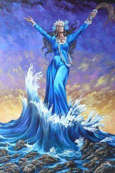 divinemoon: Beautiful my Iya! O mioooo Yemaya! Maferefun Yemaya...