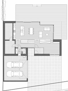 Habitation Lecoq,Ground Floor Plan