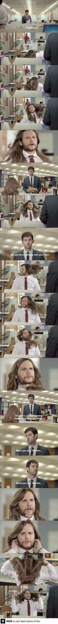 The shampoo effect