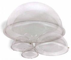 Clear Plastic Halves transform into... Space Helmet! $10.79