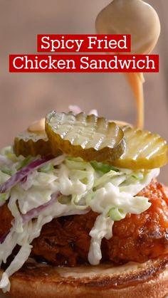 Good Food, Yummy Food, Tasty, Comida Diy, Diy Food, Fried Chicken, Food Hacks, Meals, Dinners