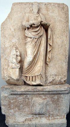 Sebasteion, Hygeia.    Aphrodisias Museum.
