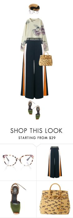 """eva2356"" by evava-c on Polyvore featuring CA4LA, Acne Studios, Prada and Peter Pilotto"