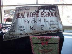 New Hope School custom fleece throw - Wew biZ STUDIO
