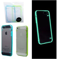 Gifts for Teens:  Glow in the Dark iPhone 5 / 5S Case Cover (set of 2) @  Amazon