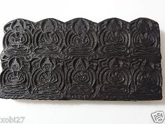 Antique #mongolian #buddhist hand #carved wooden block for amulet print,  View more on the LINK: 	http://www.zeppy.io/product/gb/2/201547921570/