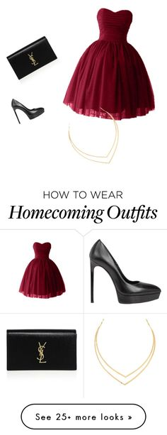 """""""Sans titre #1"""" by ayacheikhzouaoiui on Polyvore featuring Yves Saint Laurent and Lana"""