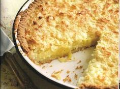 Recipe                                                                           Coconut Pie from North Carolina
