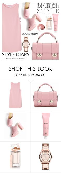 """""""Brunch Style"""" by janee-oss ❤ liked on Polyvore featuring MANGO, Balenciaga, Marc by Marc Jacobs and NARS Cosmetics"""