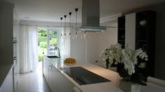 Kitchen inspiration: designed by Kelly Hoppen. Beautiful!