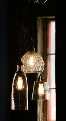 atwestend.com - pendant lamps ($79) - rustic/recycled home decor