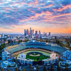 Attend the LA Dodgers & NY Mets Baseball game while in Los Angeles Let's Go Dodgers, Dodgers Nation, Dodgers Girl, Dodgers Baseball, Dodgers Today, Dodgers Party, Dodger Stadium, Sports Stadium, Baseball Park