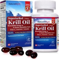 NatureMyst Krill Oil Professional Grade 60 Liquid Softgels Cut One in Half to See the Clear Difference *** Click image for more details. (This is an affiliate link) Fish Oil Benefits, Krill Oil, Omega 3 Fish Oil, Extra Virgin Coconut Oil, Body Cells, Best Brains, Natural Treatments, Health And Beauty, Pure Products