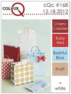 One of my favorite Christmas color combos  colourQ