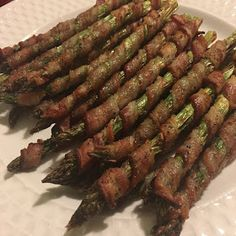 Toast to Roast: Air Fried Bacon Wrapped Asparagus