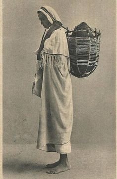 Somali nomad woman in early 1900s