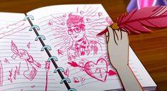 Cupido continua amando Dexter a pesar de saber que Raven e Dexter são destinados a ficar juntos...Coitada!
