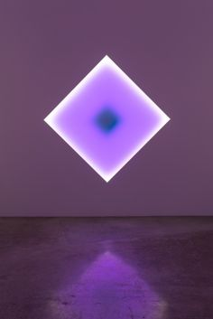 James Turrell - light installation