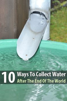 Every prepper knows you should store water, but what if a disaster happens while you're away from home? That's why you should learn how to collect water.
