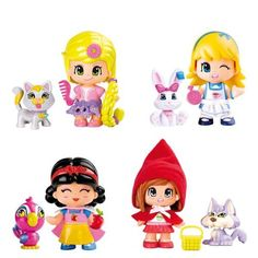 PinyPon SET OF 4 CHARACTERS OF TALES