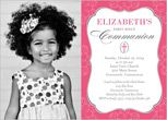 First Communion Invitations & First Holy Communion Invites | Shutterfly