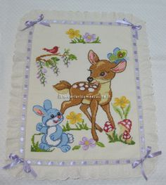healthy dinner recipes for two on a budget 2017 18 trailer Cross Stitch Baby Blanket, Baby Cross Stitch Kits, Baby Embroidery, Embroidery Designs, Brother Innovis, Merian, Animal Quilts, Plastic Canvas Patterns, Christmas Cross