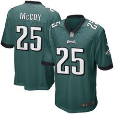 LeSean McCoy Philadelphia Eagles Nike Youth Team Color Game Jersey - Midnight Green