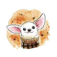 Buy Chihuahua Art Print by Renee Kurilla. Worldwide shipping available at Society6.com. Just one of millions of high quality products available. Visit our site now!
