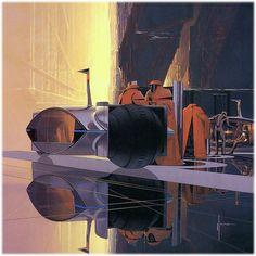 Syd Mead Futurism Cars (carsketch.ru, 2012)