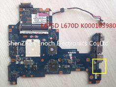 87.00$  Buy here - http://aliz38.worldwells.pw/go.php?t=32551129890 - For Toshiba Satellite L675D L670D laptop motherboard  AMD NALAE LA-6053P K000103980 DDR3 60days warranty 87.00$