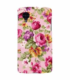 Kesi Flowry Canvas Nexus 5 Case #iphonecase