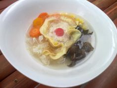 Sup Matahari, soup of the sun, a specialty of Solo (Surakarta) usually served at weddings