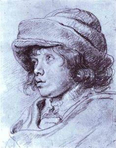 Portrait of Nicholas Rubens, 1625-26 // by Peter Paul Rubens