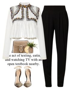 """""""- A.c.t -"""" by lolgenie ❤ liked on Polyvore featuring Siste's, Isabel Marant, Gucci, Gianvito Rossi and Chanel"""