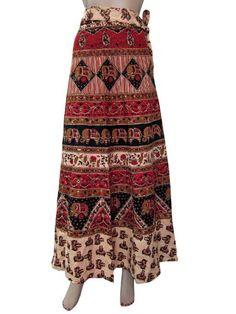 Long Skirt Peach Red Elephant Jaipuri Print Hippie Gypsy Wrap Sarong mogulinterior,http://www.amazon.com/dp/B00DHELH80/ref=cm_sw_r_pi_dp_nNrXrb09B3084B9B