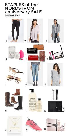 staples that every girl should have from the nordstrom anniversary sale!