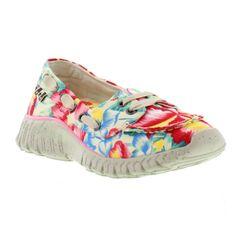 Tigerbear Republik Shoes, Womens Wolfie White Hula Hawaii - £44.99 Cute Casual Shoes, Hula, New Shoes, Hawaii, Slip On, Sneakers, Women, Fashion, Tennis