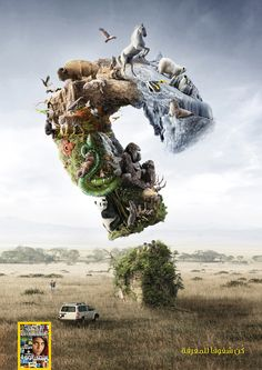 National Geographic: Wildlife | #ads #adv #marketing #creative #publicité #print…